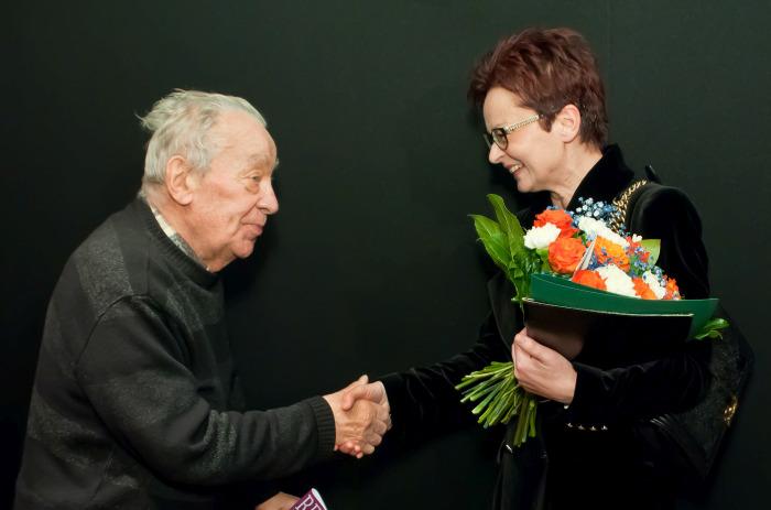 Józef Tejchma i Magdalena Grochowska