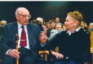 Władysław Bartoszewski i Julia Hartwig
